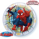 "Balon Bubble 22""/56cm Marvel's Ultimate Spiderman, Qualatex 41706"