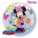 """Balon Bubble 22""""/56cm Minnie Mouse, Qualatex 41065"""
