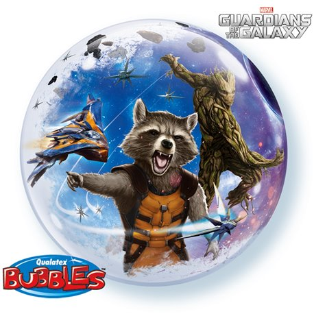 "Balon Bubble 22""/56cm Guardians of the Galaxy, Qualatex 32245"