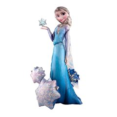 Balon Folie Airwalker Frozen - Elsa, Amscan, 144 cm, 110087