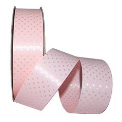Rafie lata roz cu buline albe - 34 mm x 10 m, Radar B41084