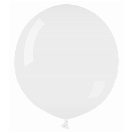 "Balon Latex Jumbo 69""/175cm Alb 01, Gemar G550.01, 1 buc"