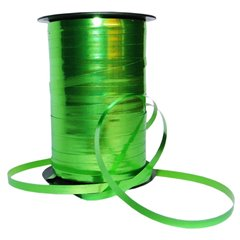 Rafie metalizata Mela(verde lime) pentru baloane - 51 mm x 100 m, Radar B53265