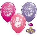 "Baloane latex 11"" Sofia the First - Happy Birthday, Qualatex 18708, Set 25 buc"