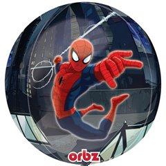 Balon Folie Orbz Sfera Spiderman - 38x40cm, Amscan 2847201