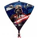 Balon Folie Diamondz Star Wars - 38x43cm, Amscan 3039801