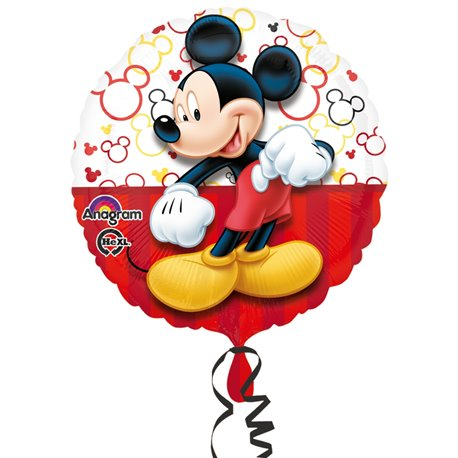 Balon Folie 45 cm Mickey Mouse Portrait, Amscan 3064501