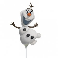 "Balon Folie Mini-Figurina Olaf - 9""/23cm, Amscan 3095702"
