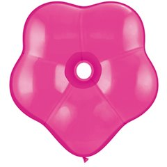 "Balon latex floare, GEO Blossom 16"" Wild Berry, Qualatex 37817"