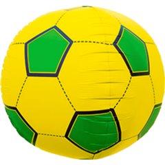 "Balon Folie Orbz Sfera Minge de Fotbal Brazilia- 17""/43cm, Northstar Balloons 01189"