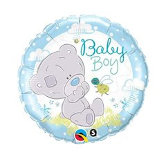 Balon folie 45cm Baby Boy -  Me to You, Qualatex 28172
