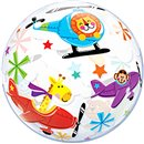 "Balon Bubble Flying Circus - 22""/56cm, Qualatex 25279"