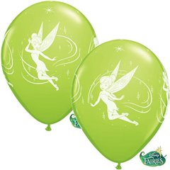 Baloane latex 12''- Tinker Bell, Qualatex 19239, Set 6buc