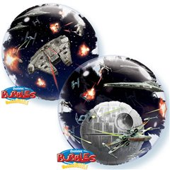 "Balon Double Bubble 24""/61cm Star Wars, Qualatex 21320"
