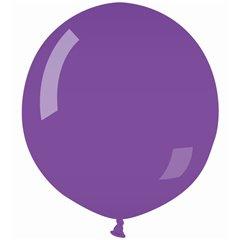 Baloane Jumbo Violet - 48cm, Violet 08, Gemar G150.08, Set 50 buc