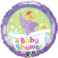 Balon Folie 45 cm Baby Shower, Qualatex 13912