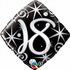 Balon Folie 45 cm 18 ani, Qualatex 29993
