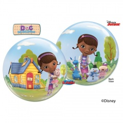 "Balon Bubble 22""/56cm  Doctorita Plusica, Qualatex 65575,1buc"