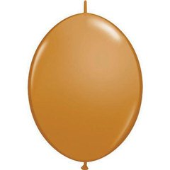 "Baloane latex Cony  6""/15 cm, Mocha Brown, Qualatex 99865"