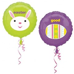 Folie 45 cm Good Egg, Easter Bunny, Amscan 15287