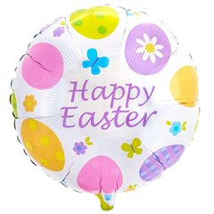Folie 45 cm Amscan, Eggstravaganza Easter, 10841