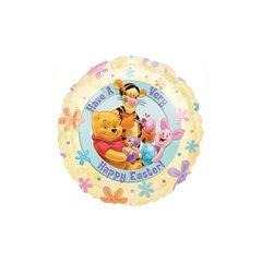 Folie 45 cm Pooh Easter, Amscan 10717