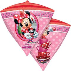 Balon Folie Diamondz Minnie Mouse - 38 x 43 cm, Anagram 28456