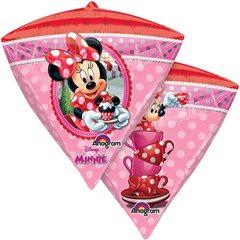 Balon Folie Diamondz Minnie Mouse - 38 x 43 cm, Anagram 28456