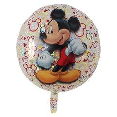 Balon Folie 55cm Mickey Mouse, Amscan 32924