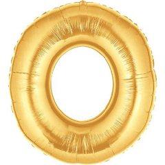 "Balon Folie Mare Litera O Auriu - 34""/86 cm, Northstar Balloons 00262"