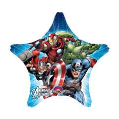 Balon folie figurina stea Avengers - 81cm, Amscan 28042