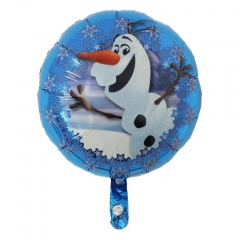 Balon Folie 45cm Olaf, Amscan 31951