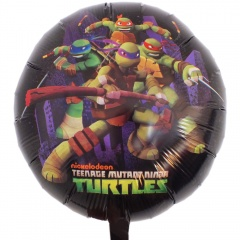Balon folie 45cm Testoasele Ninja, Amscan 32920
