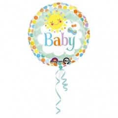 Balon Folie 45 cm Baby, Amscan 30751, 1 bucata