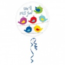 Balon Folie 45cm We'll miss you, Amscan 33689