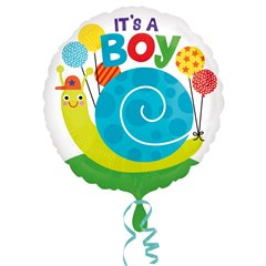 Balon Folie 45cm It's a Boy, Amscan 33646