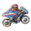 Balon folie figurina Motocicleta de Curse, Amscan 29502