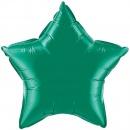 Balon folie emerald green metalizat stea - 45cm, Northstar Balloons 00597