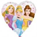 Balon Folie 45 cm Inima Printese Disney 34267