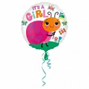 Balon Folie 45 cm Gargarita It's a Girl, Amscan 33645, 1 bucata