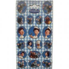 Stickere decorative pentru copii - Ratatouille, Radar 910930, Set 10 piese