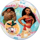 "Balon Bubble 22""/56cm Vaiana, Qualatex, 49078"