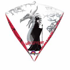 Balon folie diamondz Maleficent Disney - 38x43cm, Amscan A29439