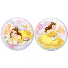"""Balon Bubble 22""""/56cm Disney Belle, Qualatex 46727"""