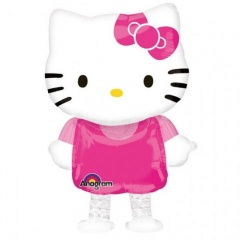 Balon Folie AirWalker Hello Kitty - 39 x 59 cm, Amscan 26336