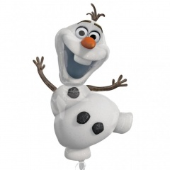 "Balon folie figurina ""Olaf"" Frozen - 68x134cm, Amscan 28316"