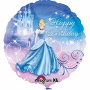 "Balon folie 45cm ""Happy Birthday"" Cenusareasa, Amscan 24815"