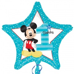Balon Folie 45 cm Figurina Mickey Mouse Rock Star 27400