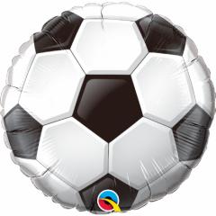 Balon Folie 45 cm Minge Fotbal, Qualatex 71597