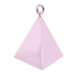 Greutate pentru baloane forma piramida - roz, Qualatex 14401